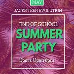 Jack's Teen Evolution: End of School Summer Party