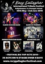 Rory Gallagher International Tribute Festival 2019