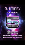 Affinity 5th Birthday with Ferry Corsten and special guests